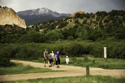 """Get Fit in the Garden"" Garden of the Gods Weekly Wellness Walk"