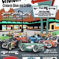 Cruisin' The Gods: Car Show and Cruise presented by <i>Virtual</i> First Friday: April 3 at ,