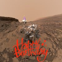 Curiosity's 5th Birthday on Mars
