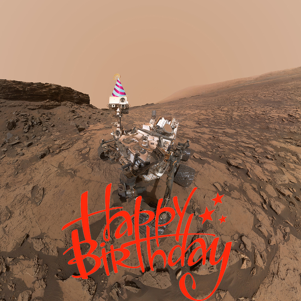 Curiosity S 5th Birthday On Mars Presented By Space
