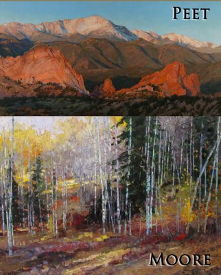 Robert Moore and Darcie Peet presented by Broadmoor Galleries at Broadmoor Galleries - Traditional Gallery, Colorado Springs CO