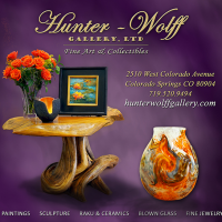 Anniversary Celebration & Show presented by Hunter-Wolff Gallery at Hunter-Wolff Gallery, Colorado Springs CO