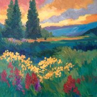 First Friday Artwalk Demo presented by Laura Reilly Fine Art Gallery and Studio at ,