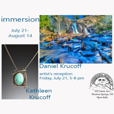'Immersion' presented by Commonwheel Artists Co-op at Commonwheel Artists Co-op, Manitou Springs CO