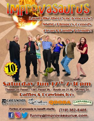 Improvasaurus Improv Comedy Show presented by Improvasaurus at ,