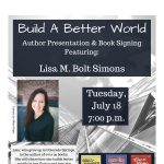 Lisa M. Bolt Simons Author Presentation and Book Signing presented by Pikes Peak Library District at PPLD - Penrose Library, Colorado Springs CO