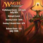 Magic the Gathering: Hour of Devastation Pre-Release presented by Petrie's Family Games at Petrie's Family Games, Colorado Springs Colorado
