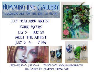 Meet the Artist: Korri Myers presented by Peak Radar Live: Colorado Springs Dance Theatre at Humming Line Gallery, Colorado Springs CO