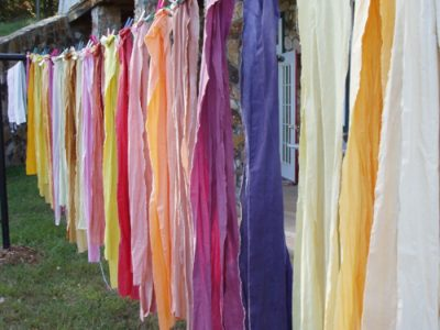 Natural Dyeing: A Color A Day with Donna Brown presented by Textiles West at Manitou Art Center, Manitou Springs CO