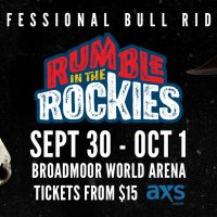 Professional Bull Riders Rumble in the Rockies