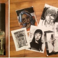 'Pen and Ink Drawings' presented by Peak Town Square: June First Friday Live at TwentyOne8 Gallery, Colorado Springs CO