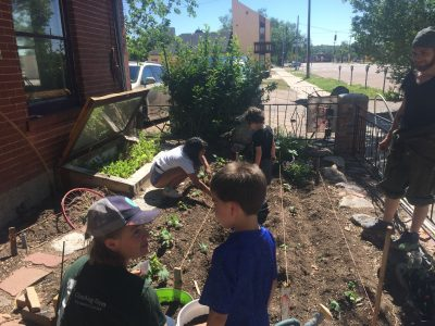 Summer Community Art and Mural Program 5: Garden Beautification presented by Concrete Couch at Hillside Community Center, Colorado Springs CO