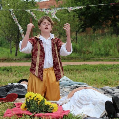 Summer Theatre Camp: Clowning Around with Shakespeare presented by Theatreworks at Dusty Loo Bon Vivant Theater, Colorado Springs CO