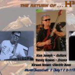 The Return of Alan Joseph and H30 presented by Motif Jazz Cafe at Motif Jazz Cafe, Colorado Springs CO