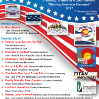 Tri-Lakes 4th of July Celebration presented by Town of Monument at Downtown Monument, Monument CO