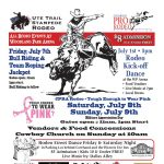 Ute Trail Stampede Rodeo presented by  at ,