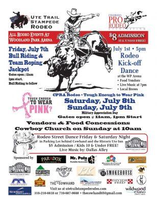 Ute Trail Stampede Rodeo Peakradar Com