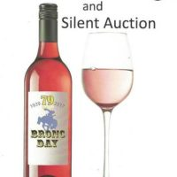 Wine Tasting and Silent Auction Benefit presented by Bronc Day Committee at ,