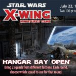X-Wing Hanger Bay Open presented by Petrie's Family Games at Petrie's Family Games, Colorado Springs Colorado