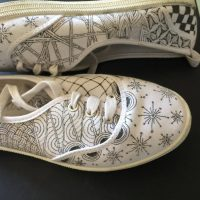 STAR Nights | Teens | Tangling on Shoes presented by Textiles West at Cottonwood Center for the Arts, Colorado Springs CO