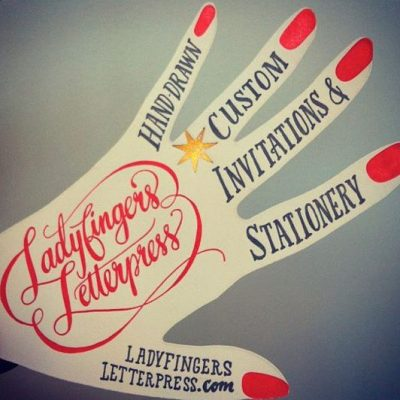 Ladyfingers Letterpress located in Colorado Springs CO