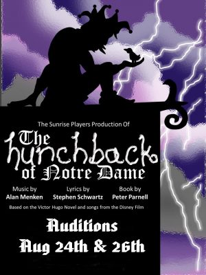 'Hunchback of Notre Dame the Musical' Audition
