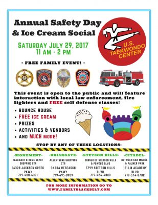 Annual Safety Day and Ice Cream Social presented by Peak Radar Live: Colorado Springs Dance Theatre at ,