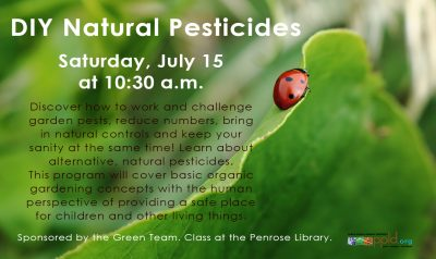 D.I.Y. Natural Pesticides presented by Peak Radar Live: Colorado Springs Dance Theatre at ,