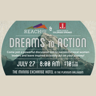 Dreams to Action presented by ArtPOP Series: A Conversation with Vanessa Little at The Mining Exchange, a Wyndham Grand Hotel, Colorado Springs CO