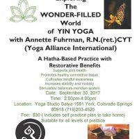 Exploring The World of Yin Yoga