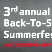 3rd Annual Back to School SummerFest