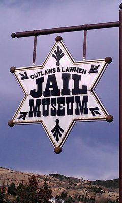 Outlaws & Law Men Jail Museum located in Cripple Creek CO
