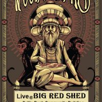 Woodshed Red at the Big Red Shed