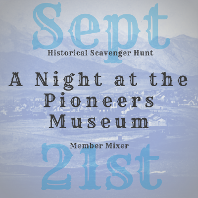 A Night at the Pioneers Museum