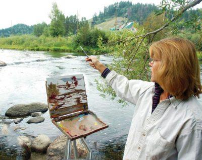 Active Adults Club: Landscape Painting Workshop