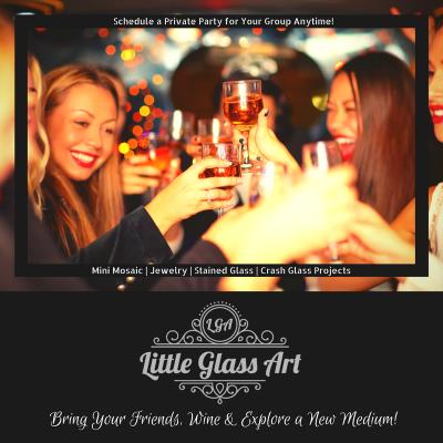 Bring Your Friends, Wine & Explore a New Medium!