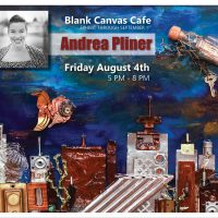 Andrea Pliner presented by Dream Catchers at Blank Canvas Cafe, Colorado Springs CO