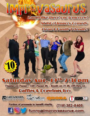 Improvasaurus Comedy presented by Improvasaurus at ,