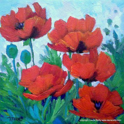 Paint Along Workshop: Wild Poppies