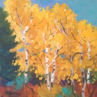 Paint Along Workshop: Awesome Aspens