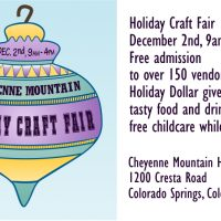 Cheyenne Mountain High School Holiday Craft Fair