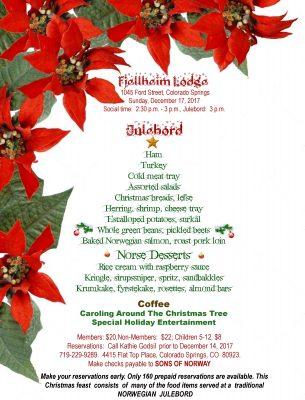 Julebord - A Norwegian Christmas Feast