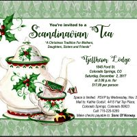 Scandinavian Christmas Tea