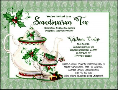 Scandinavian Christmas Tea