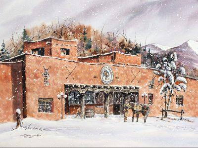 Watercolorist Steve Castle