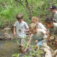 Bear Creek Nature Center Creek Week Cleanup