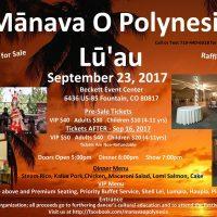 Second Bi-annual Lu'au presented by Mānava O Polynesia at ,