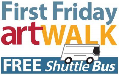 First Friday Art Walk Shuttle Bus