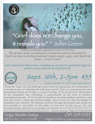 Grief: Create a Path for Moving Forward