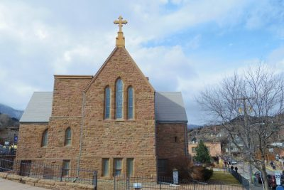 St. Andrew's Episcopal Church located in Manitou Springs CO